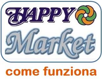 happy market come funziona